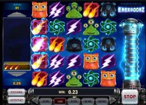 Energoonz videoslot Kroon Casino